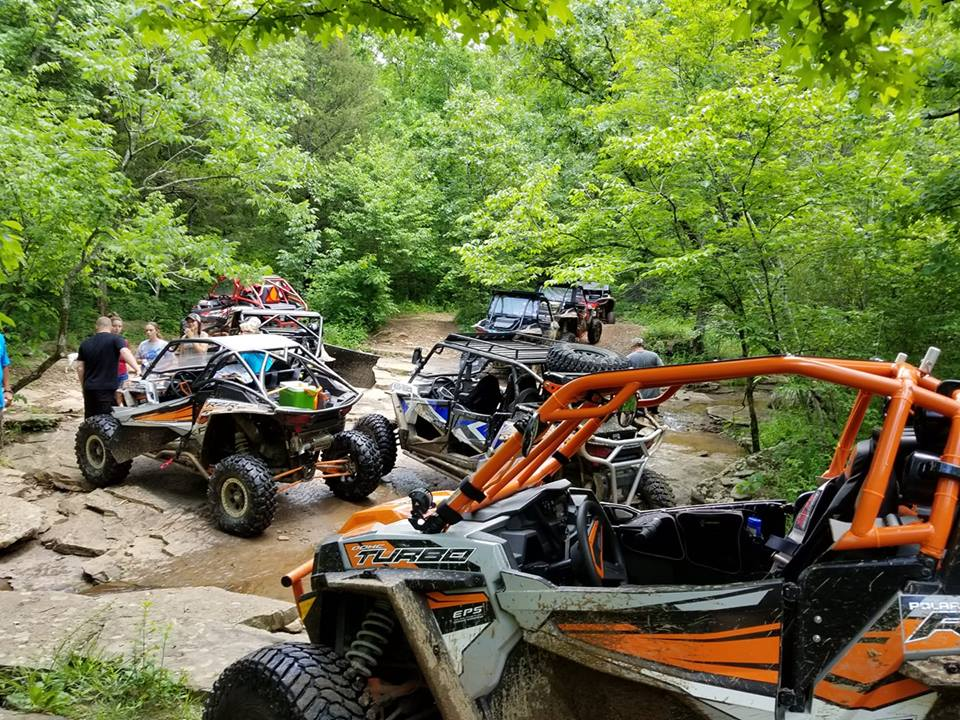 ATV / UTV Trails - Mulberry Mountain - Ozark National Forest